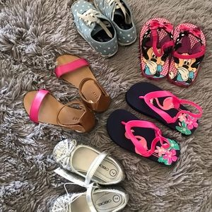 Little girls shoe bundle! Sizes are 7, 8, and 9.